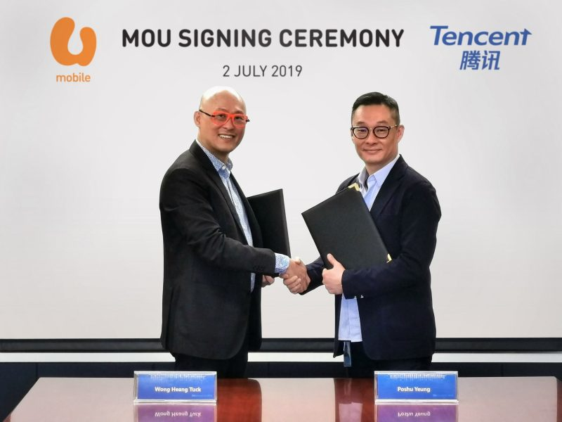 U Mobile and Tencent Sign MOU For Strategic Collaboration On Smart+ Technologies