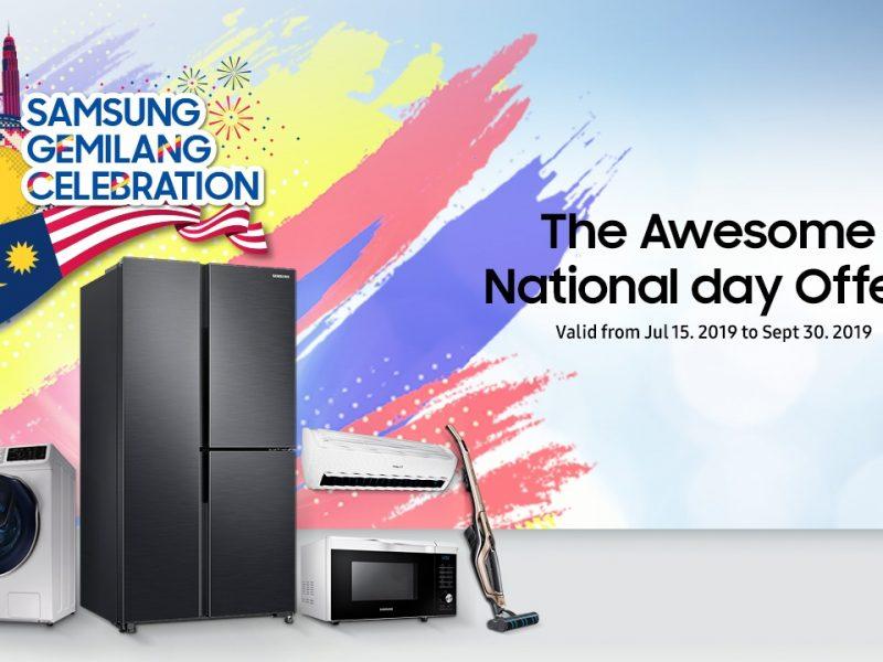 Samsung Gemilang Celebration – A Digital Appliances National Day Promo