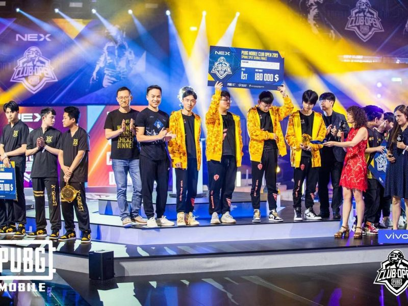 Ultimate Gaming Upgrade of Vivo NEX Showcased at PUBG MOBILE Club Open Global Finals 2019
