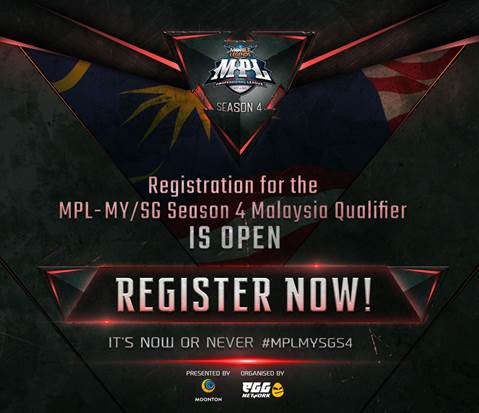 MPL-MY/SG returns with Season 4 and a total prize pool of RM414,000