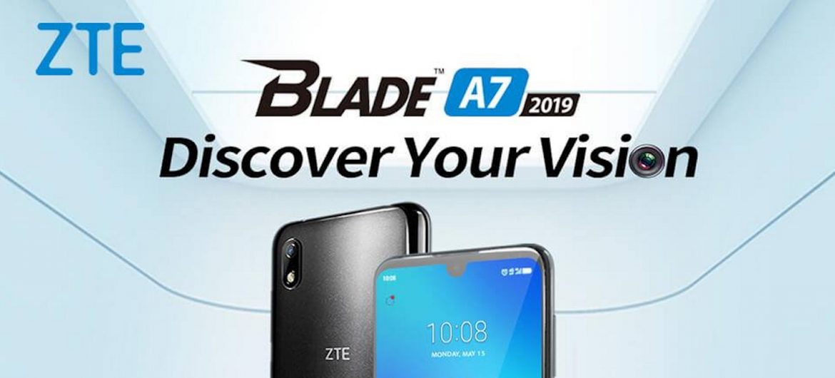 ZTE Blade A7 2019 Unboxing