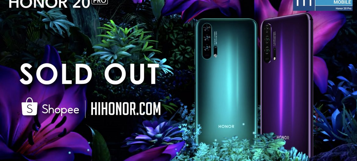 HONOR 20 PRO Sold Out