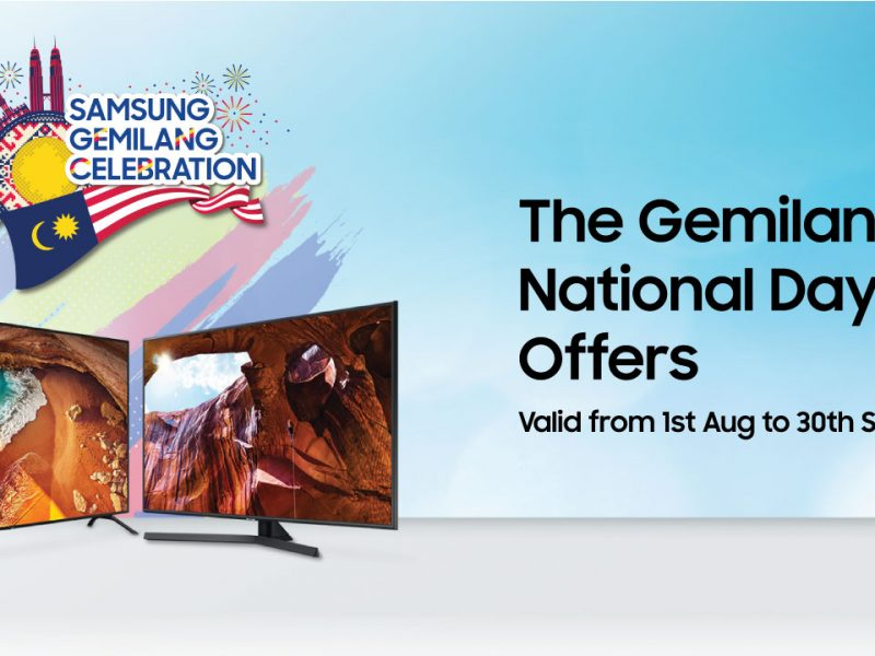 Be Completely Immersed in Home Entertainment with Samsung Gemilang Celebration this Merdeka