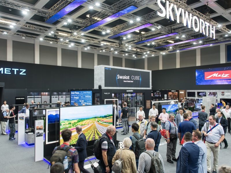 Skyworth Showcases Intelligent Connection With Smart Home Products at IFA 2019