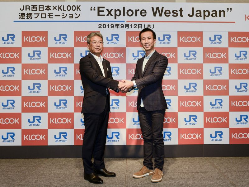 Klook Partners with JR-West to Serve Better Market of SEAsian Travelers to Japan