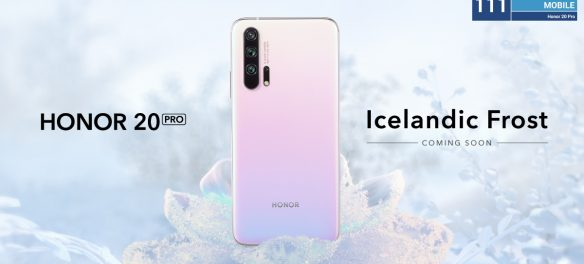 HONOR 20 PRO Icelandic Frost