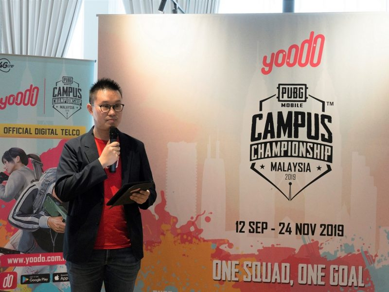 Yoodo Announces Malaysia's First PUBG MOBILE Campus Championship