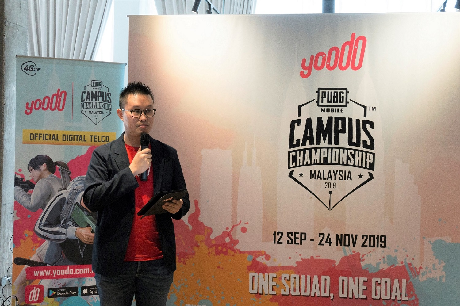 Yoodo Announces Malaysia's First Official PUBG MOBILE Tournament for Universities