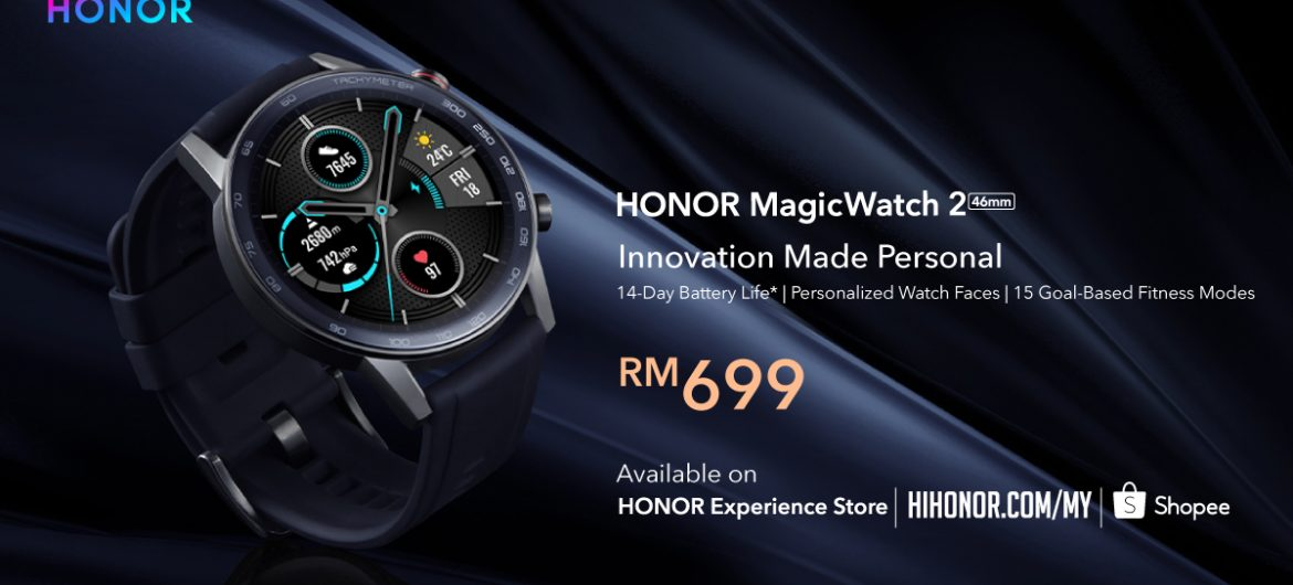 HONOR Officially Unveils the Brand-New HONOR MagicWatch 2