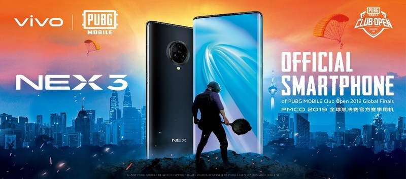 Vivo NEX 3 at the PMCO 2019 Fall Split Global Finals