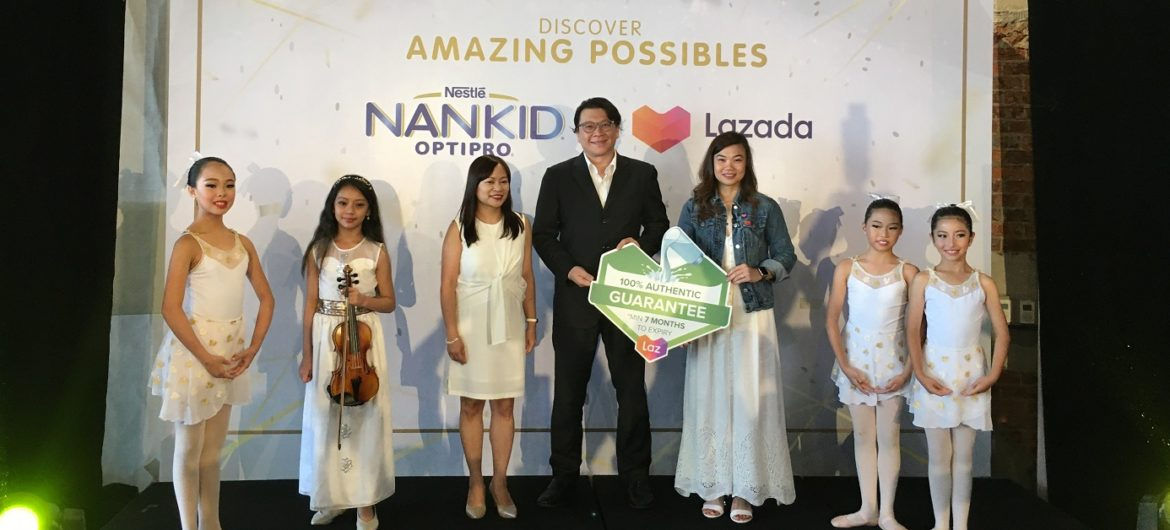 Discover Your Children's Amazing Possibles with Nestlé New NANKID OPTIPRO
