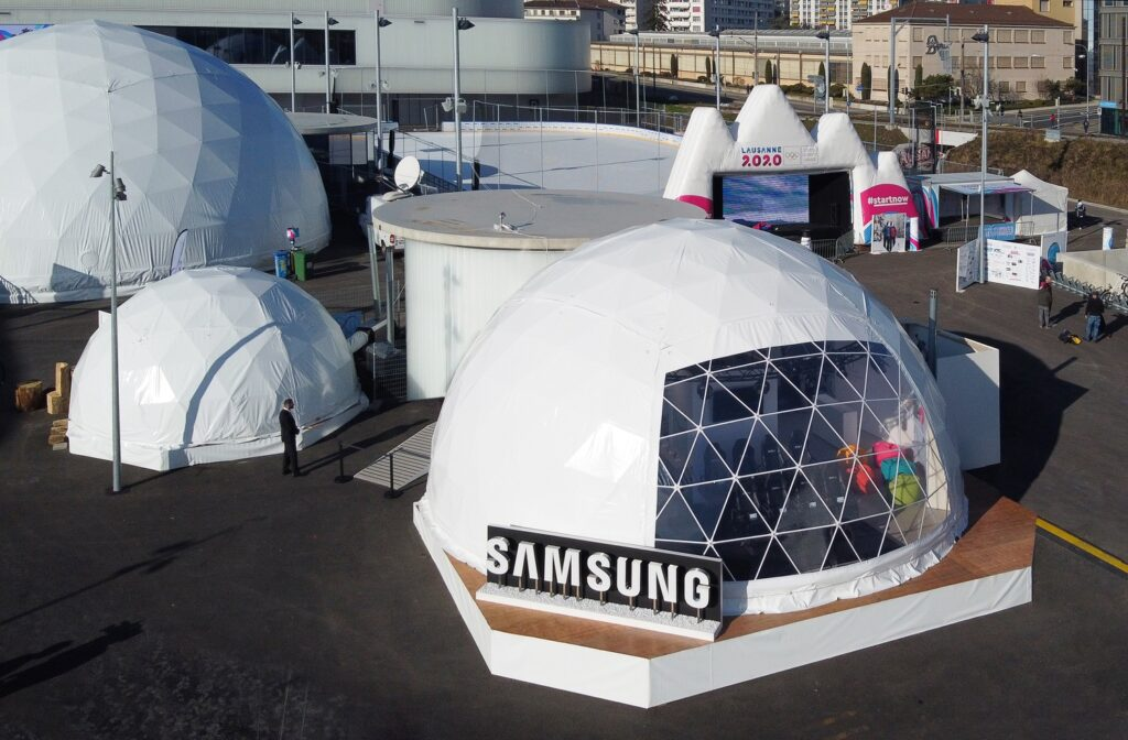 Samsung Olympic Games Showcase at Winter Youth Olympic Games Lausanne 2020